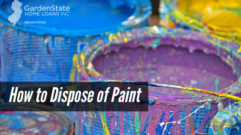 , How to Dispose of Paint