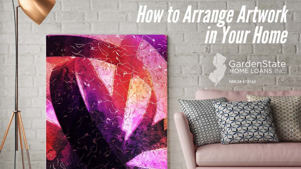 , How to Arrange Artwork in Your Home