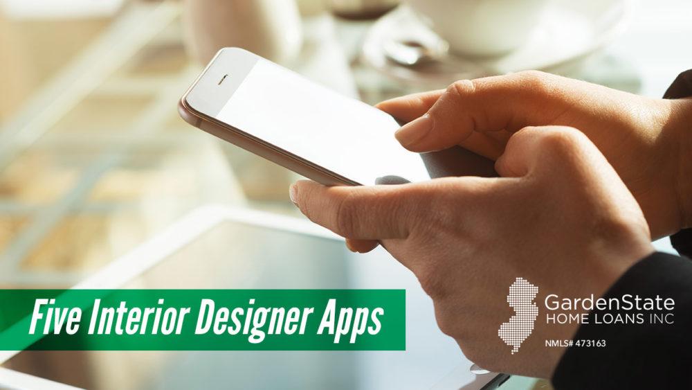 , Five Interior Designer Apps