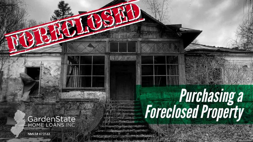 , Purchasing a Foreclosed Property