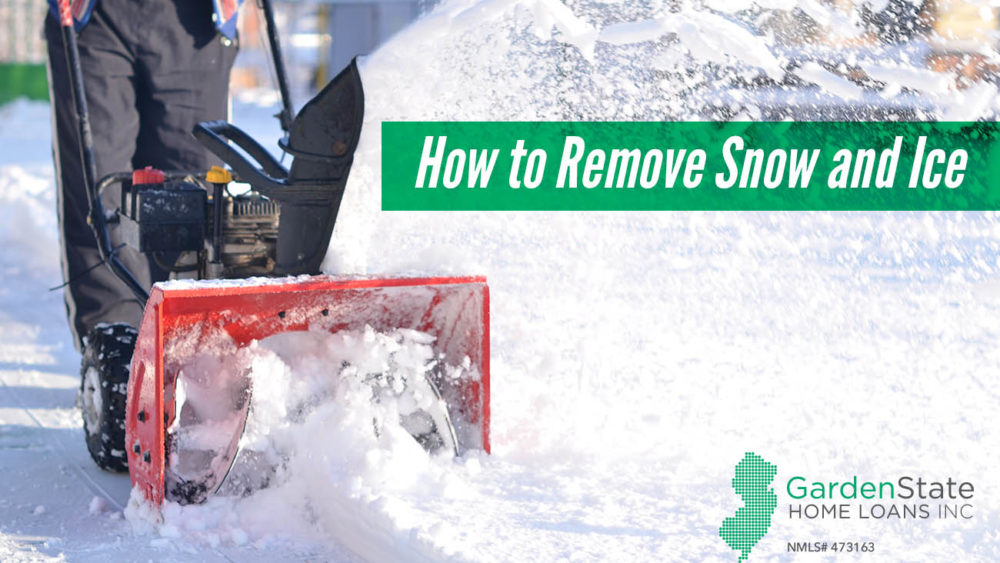 , How to Remove Snow and Ice