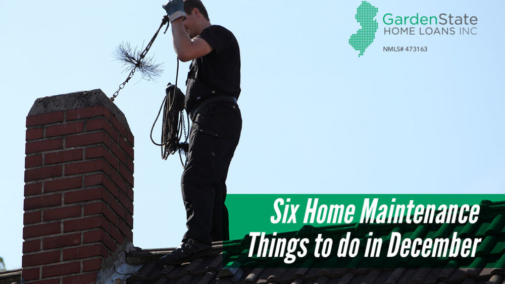 , Six Home Maintenance Things to do in December