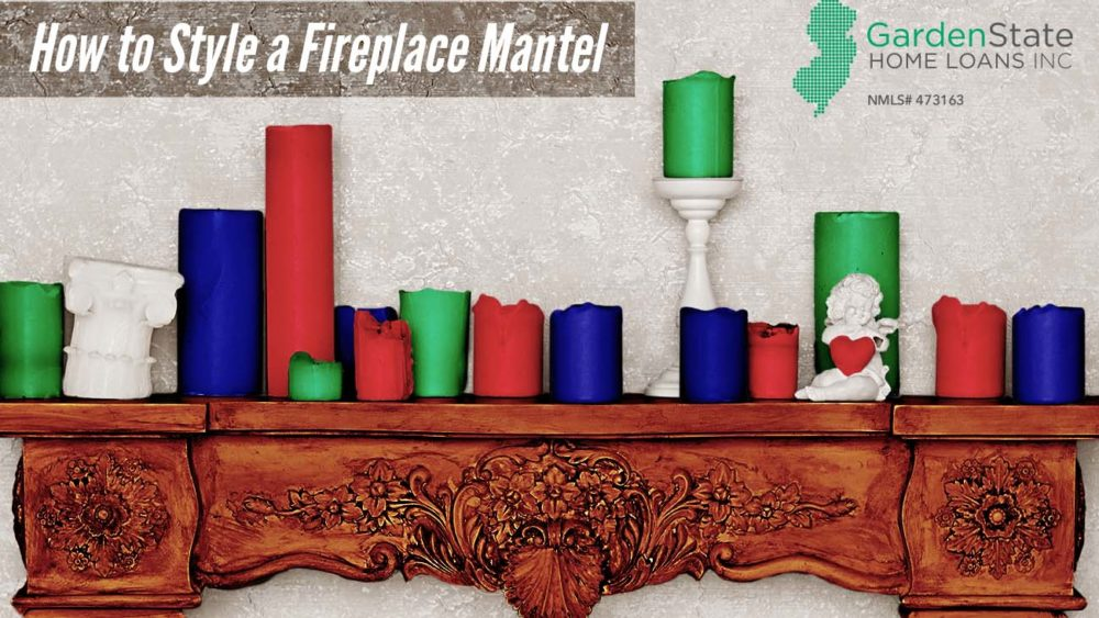 , How to Style a Fireplace Mantel