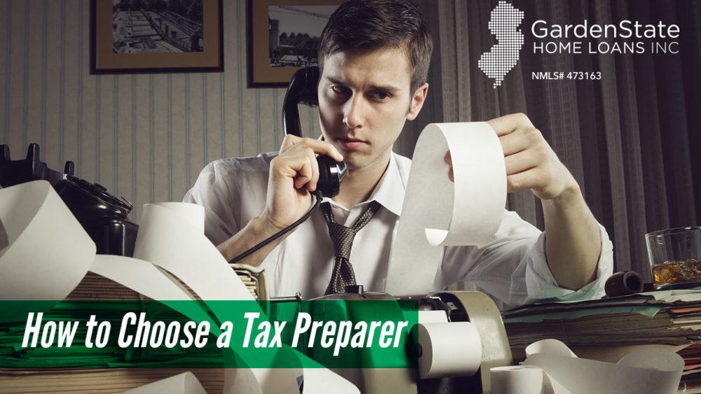 , How to Choose a Tax Preparer