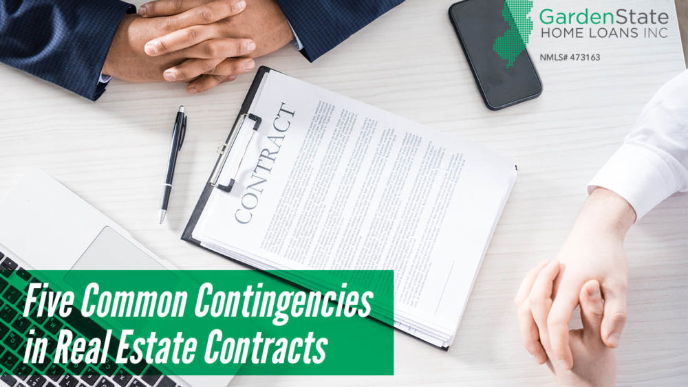, Five Common Contingencies in Real Estate Contracts