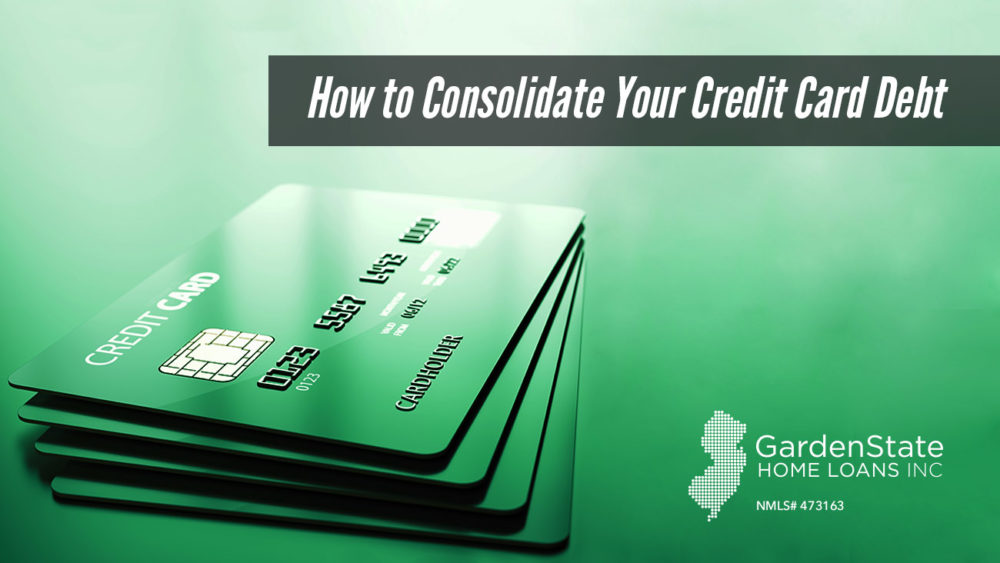 , How to Consolidate Your Credit Card Debt