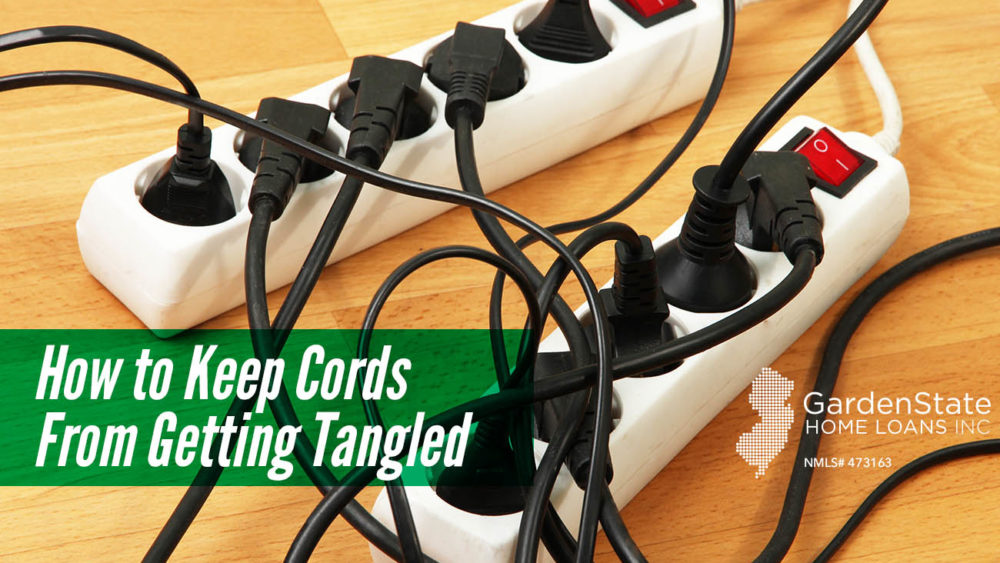 , How to Keep Cords From Getting Tangled