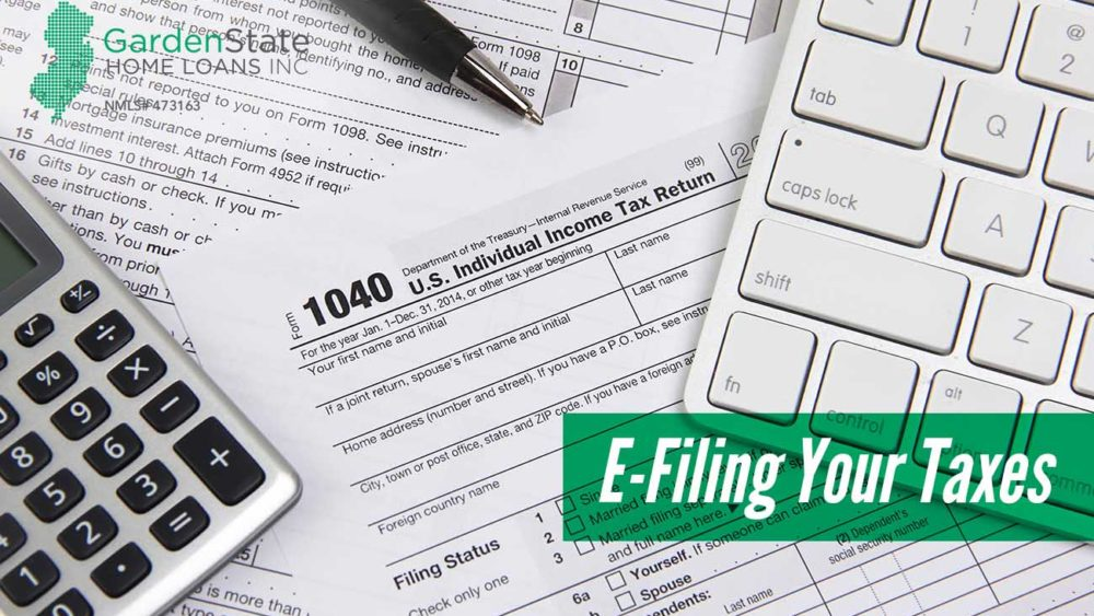 , E-Filing Your Taxes