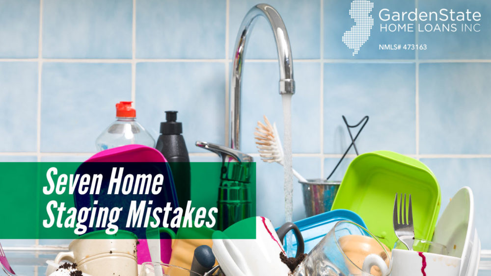 , Seven Home Staging Mistakes