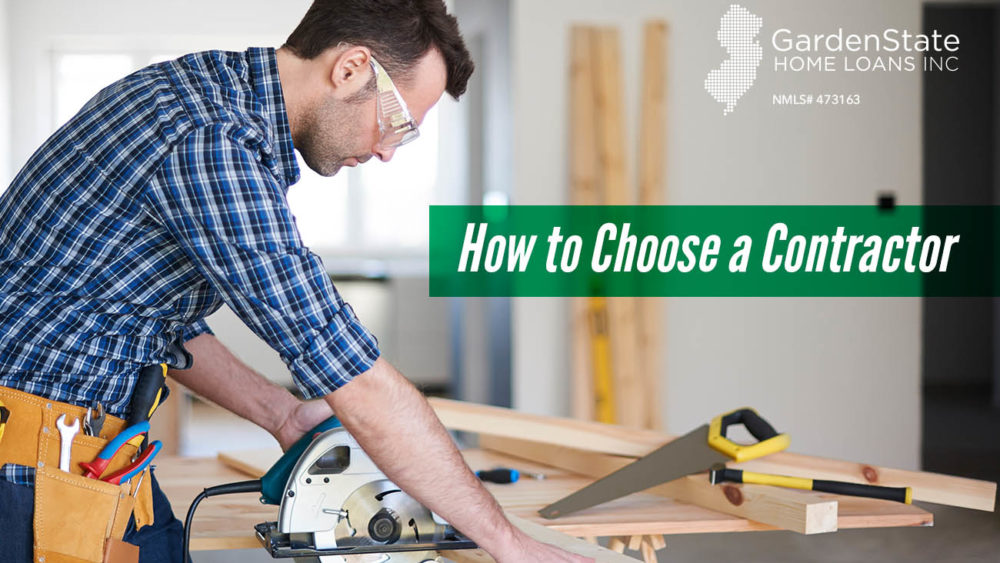 , How to Choose a Contractor