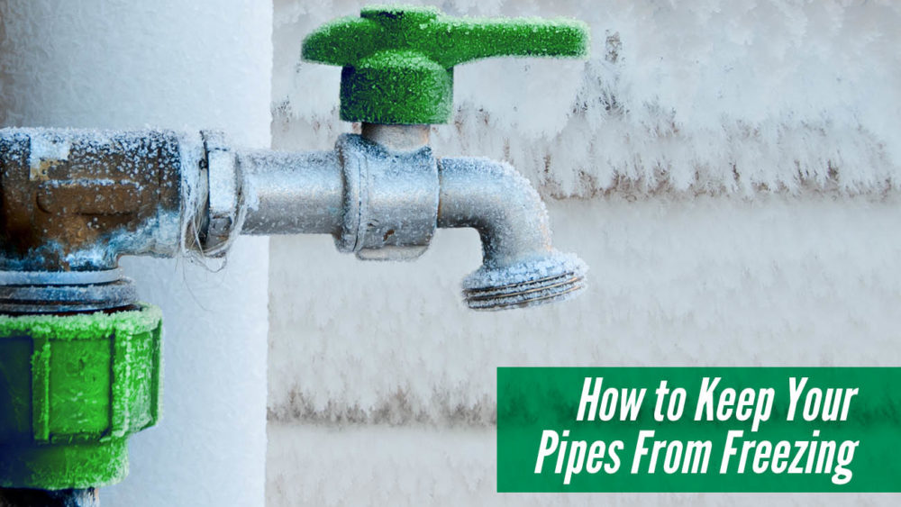, How to Keep Your Pipes From Freezing
