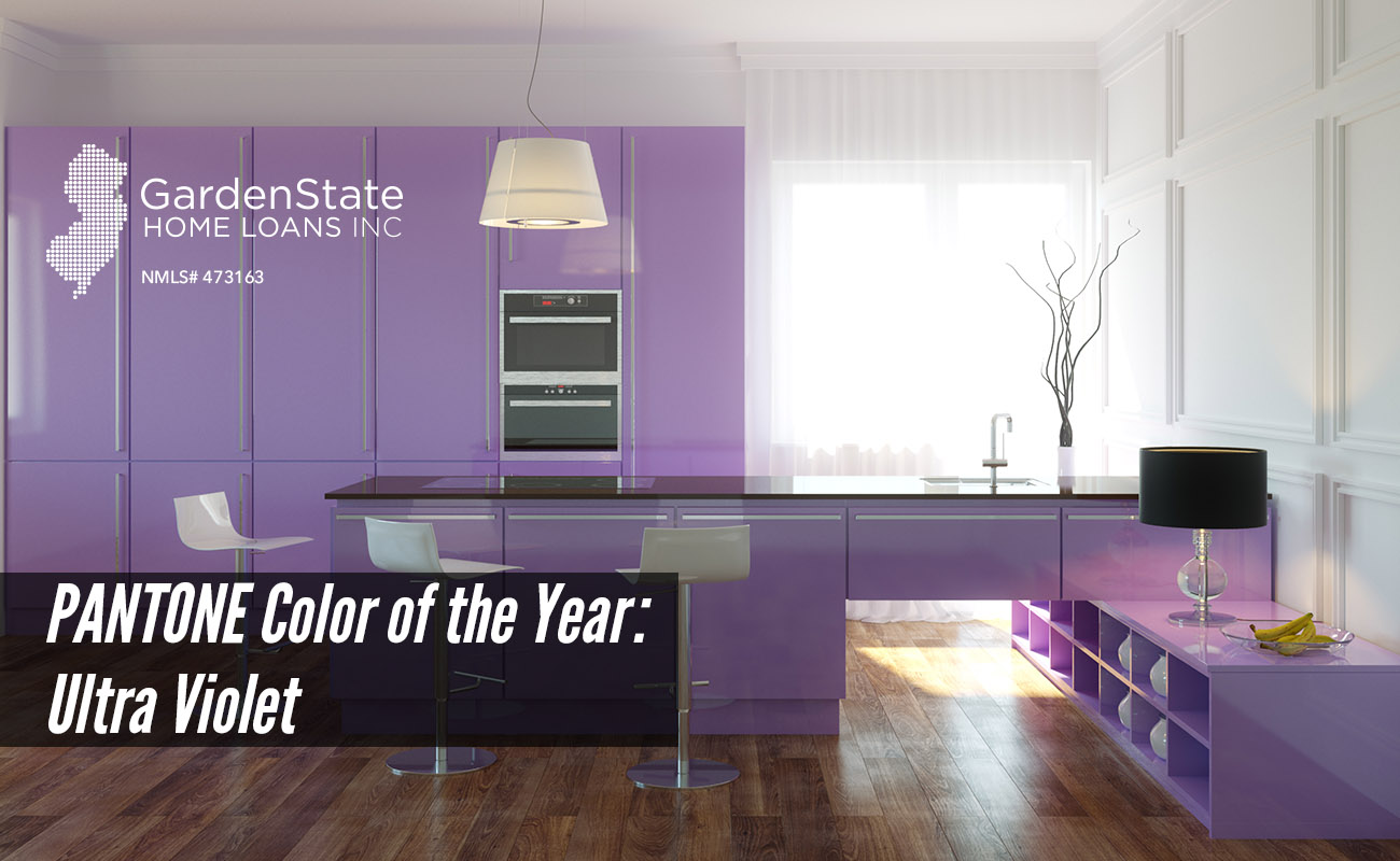 Living Room Violet Color pantone color of the year: ultra violet - garden state home loans