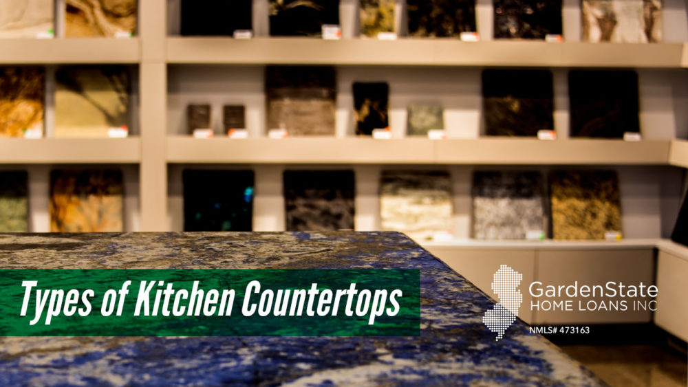 , Types of Kitchen Countertops