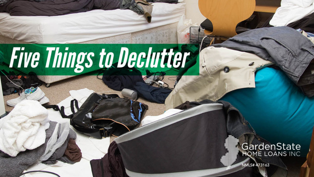 , Five Things to Declutter