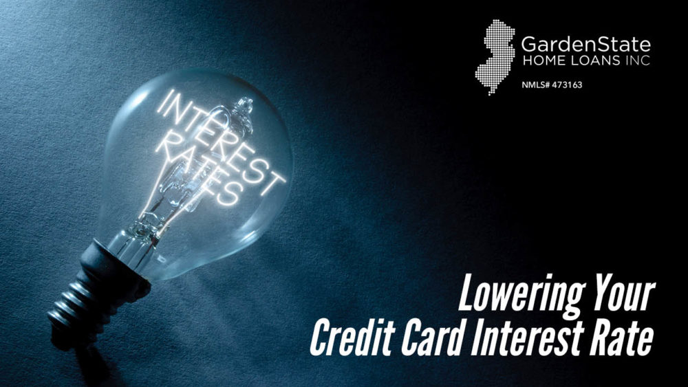 , Lowering Your Credit Card Interest Rate