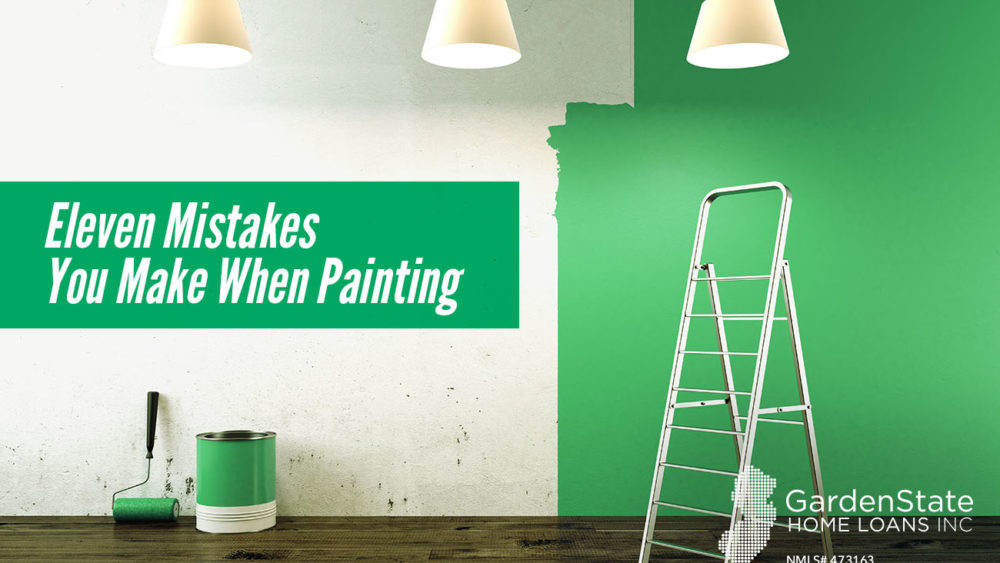 , Eleven Mistakes You Make When Painting