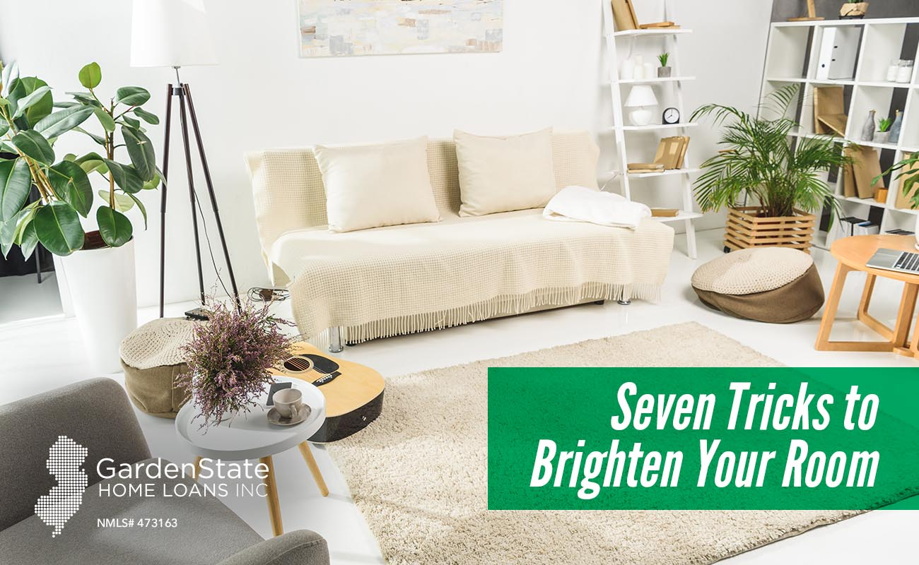 Seven Tricks to Brighten Your Room