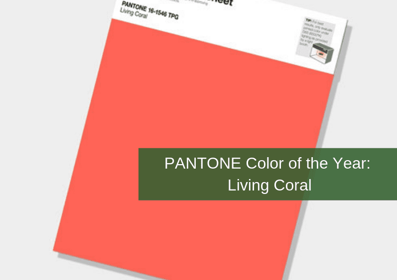 , PANTONE Color of the Year: Living Coral
