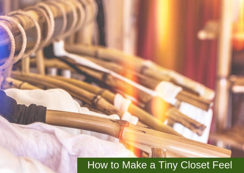 , How to Make a Tiny Closet Feel Bigger
