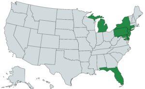 Licensing Map